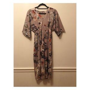 ASOS Maternity Lavender Kimono Dress NWT